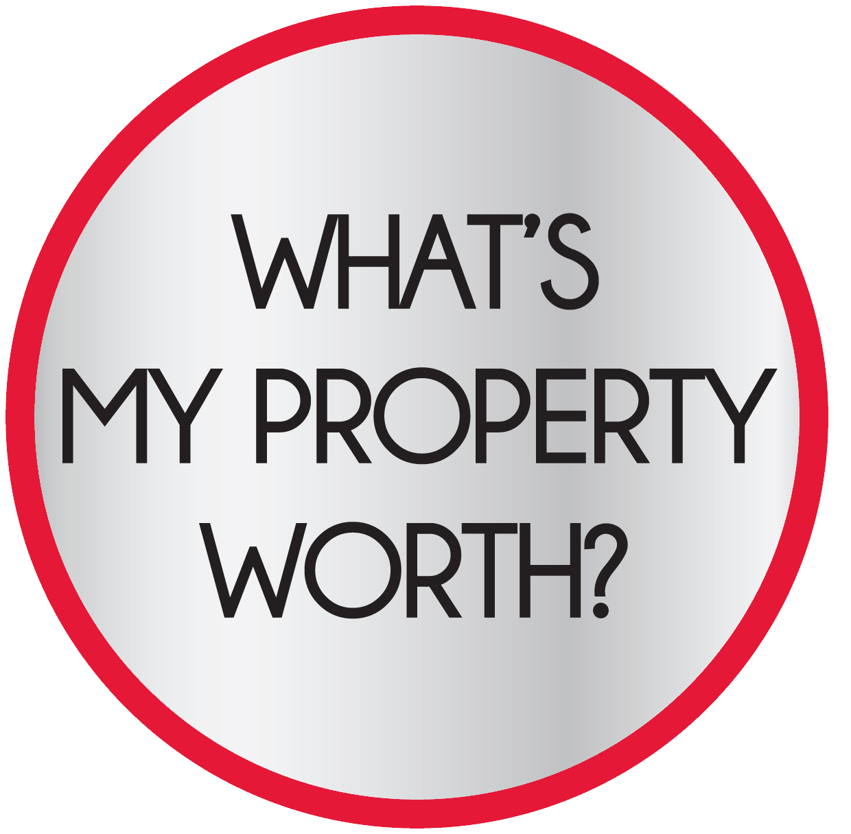 What is my home worth logo